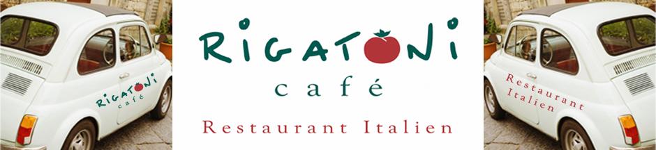 Rigatoni caf restaurant italien for Restaurant italien 95